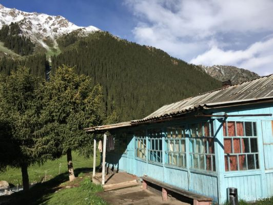 our guesthouse @Altyn Arashan