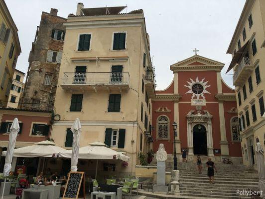 Corfu city