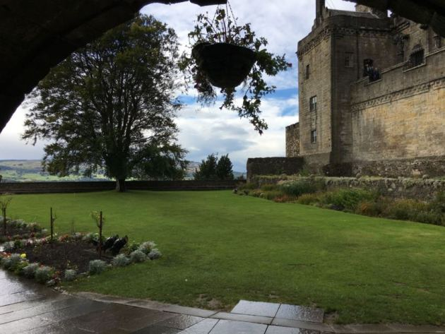 Castle gardens @Stirling