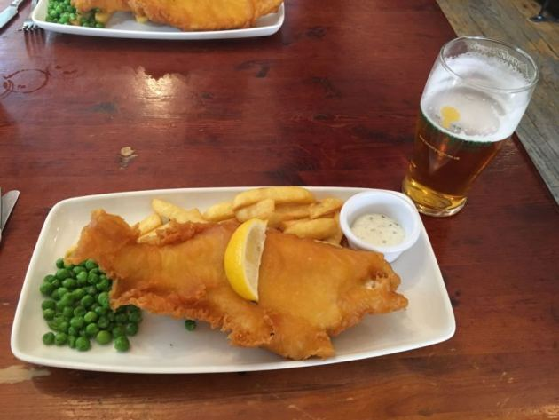 fish and chips @Stirling