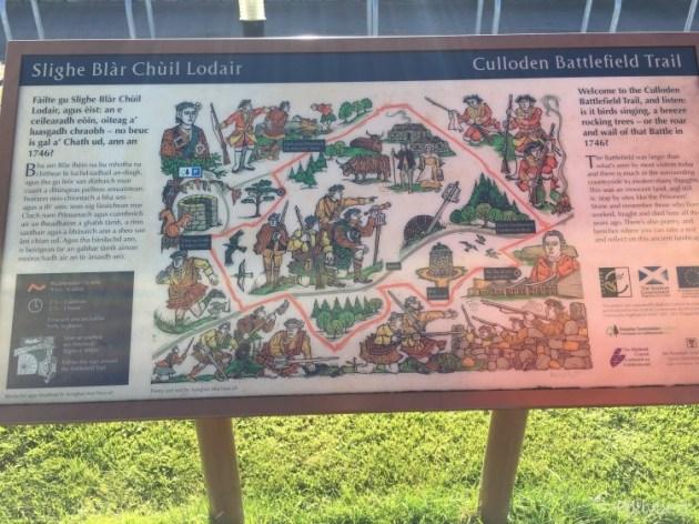 The Culloden Battlefield Trail
