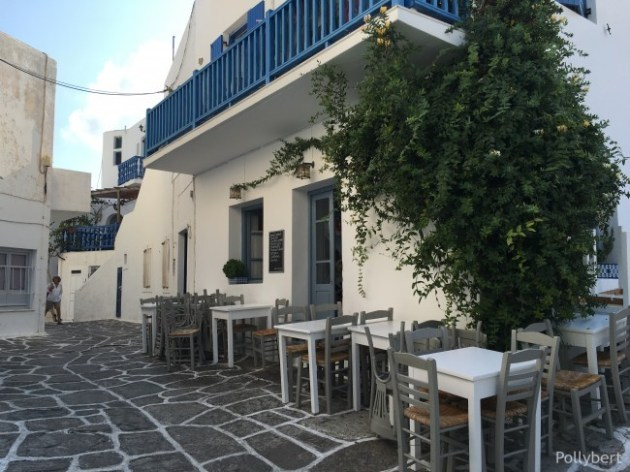 our favorite restaurant in Naoussa