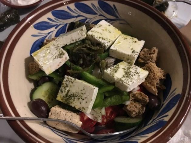 Dakos salad @Paros
