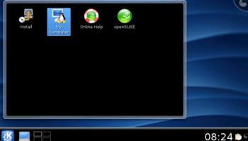 KDE 4.1 Beta 1 on ASUS EeePC - Pollycoke :)