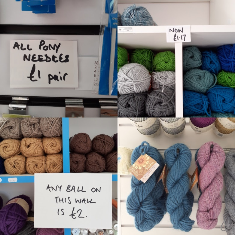 Knit One in Leicester closing 5th September