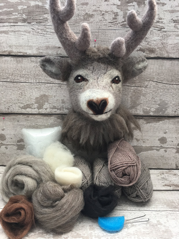 Knit2Felt Monty the Stag pre-order