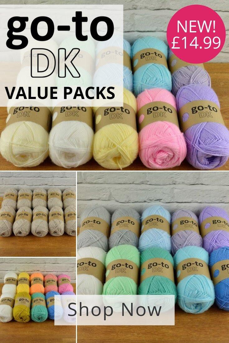 New Knitting Network Go-To DK value packs