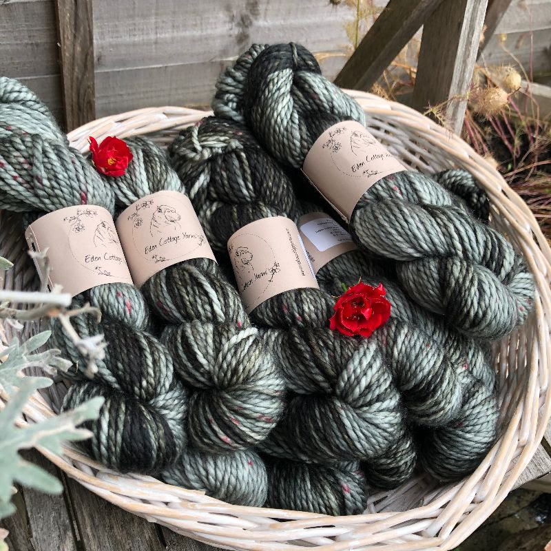 New Pendle Chunky yarn from Eden Cottage Yarns