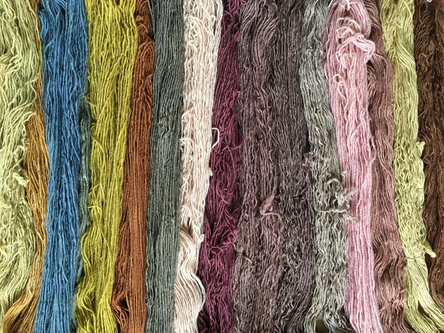 Loch Ness Kitting two day course – Sustainable Natural Dyeing 2020