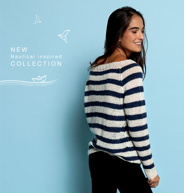 New We Are Knitters collection – Navy Winter