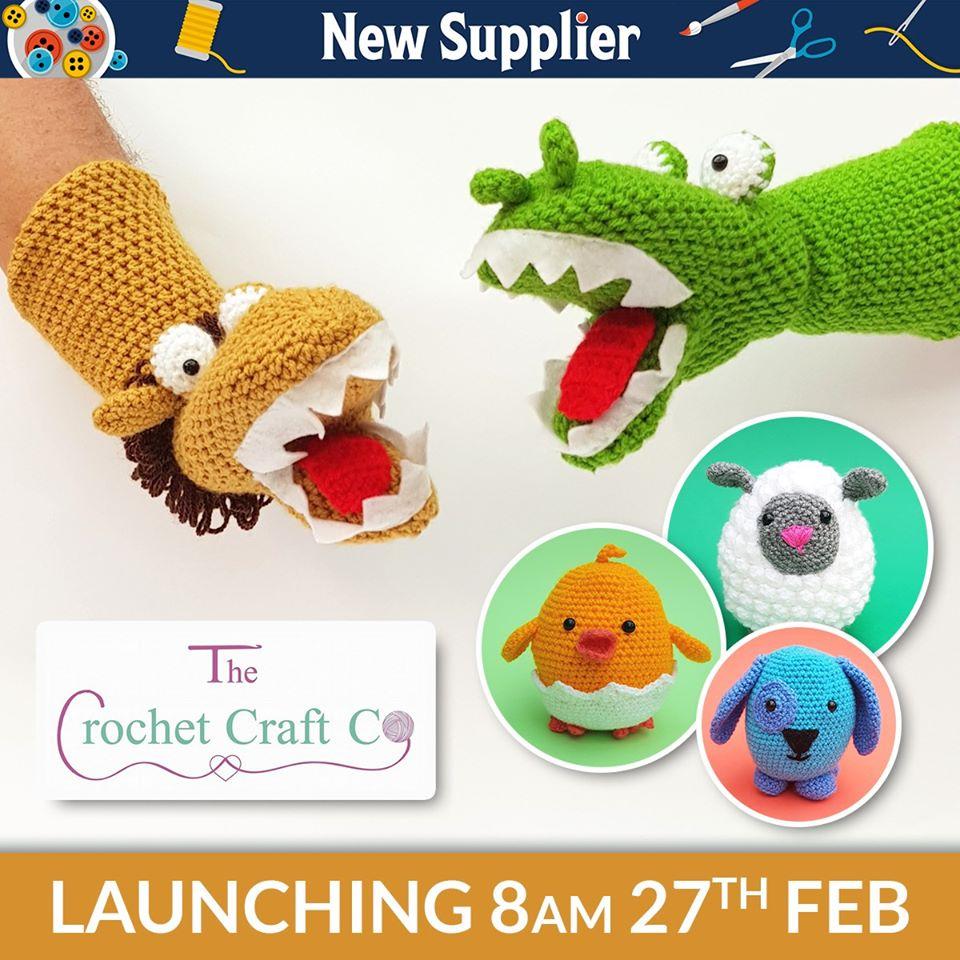 The Crochet Craft Co. on Hochanda