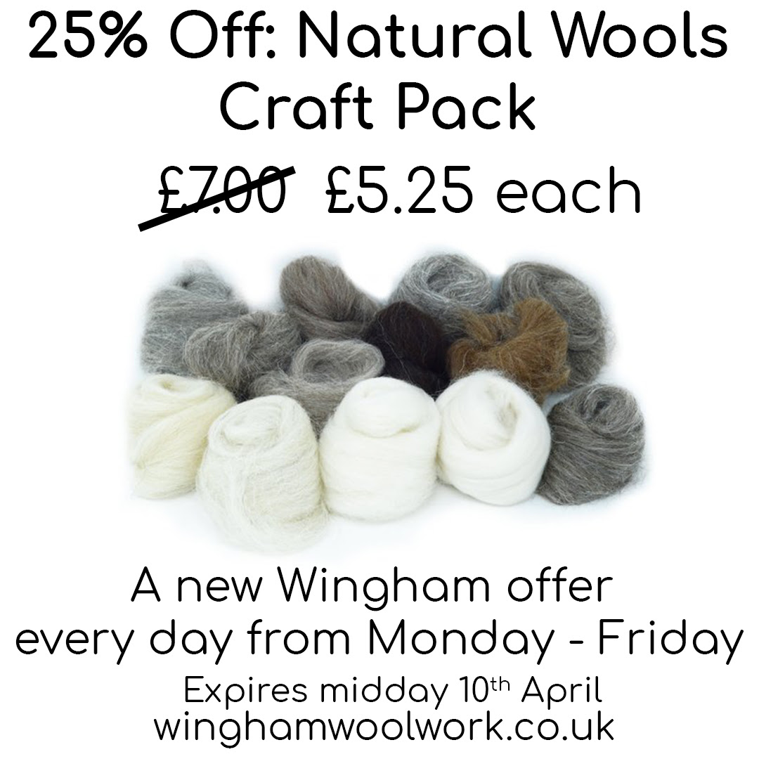 Wingham Wool Work – a new special offer every day