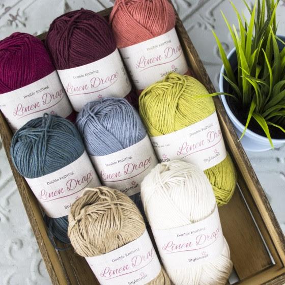 Stylecraft Linen Drape on sale at Black Sheep Wools