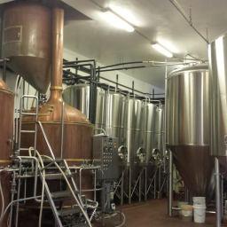 Mini Tour of Marshall Brewing Company