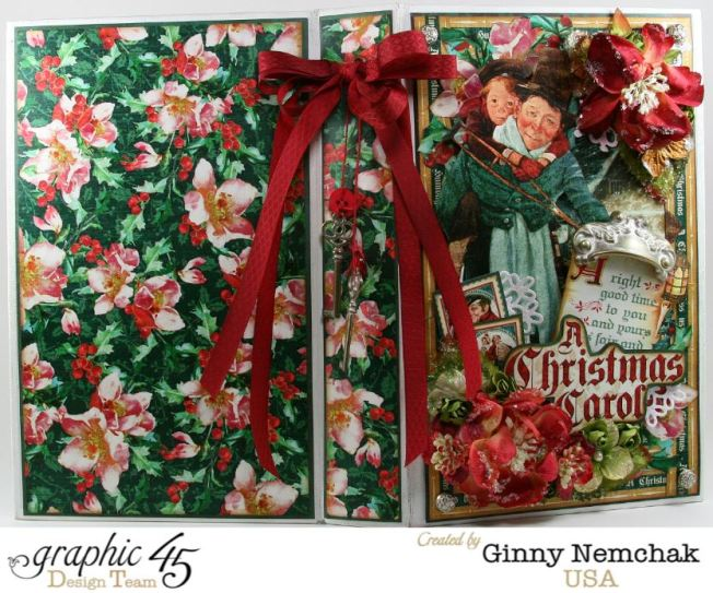 Celebrating Christmas In September With Graphic 45 A