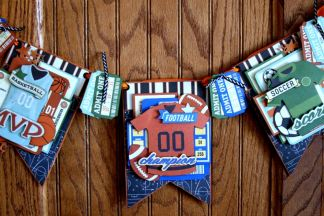 Sport Themed Party Décor forBoBunny