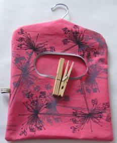Pink peg bag