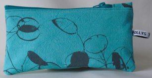 Turquoise pencil case