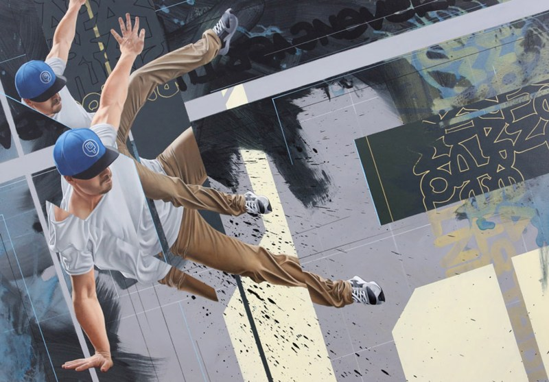 James Bullough street art mural arte urbano8