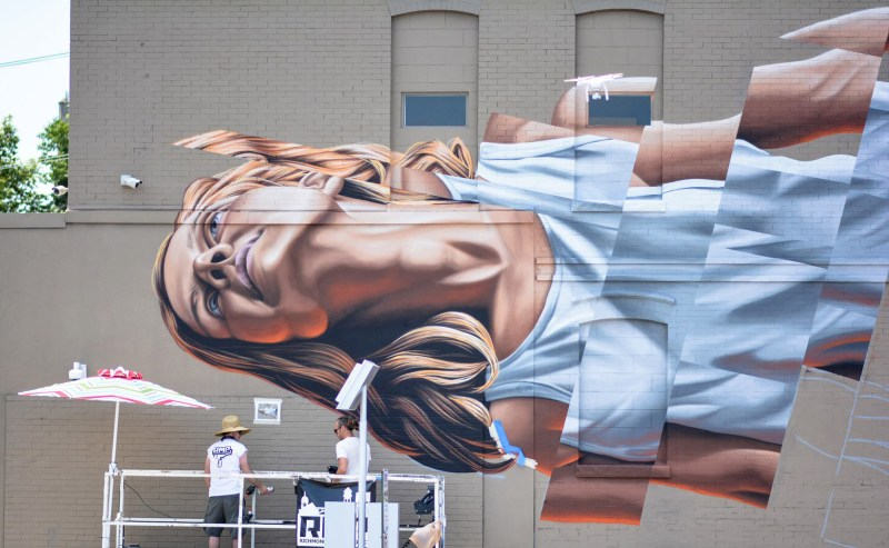 James Bullough street art mural arte urbano