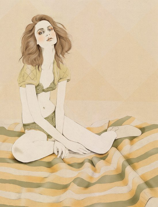 Kelly Thompson sensual illustration Cultura Inquieta 20