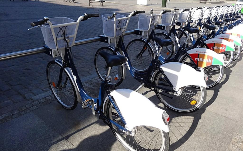 Bydgoszcz - vélos en libre-service