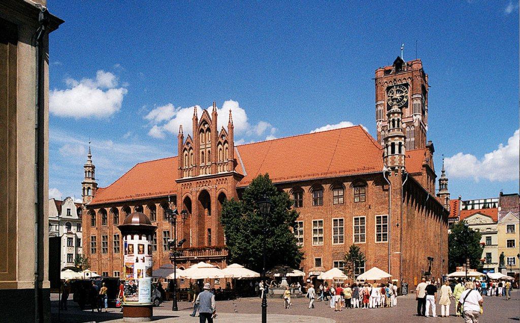Toruń – hôtel de ville
