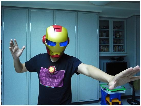 鋼鐵人面罩