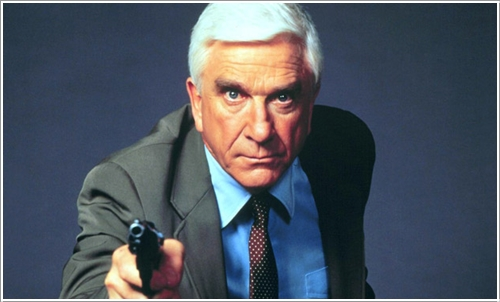 Leslie Nielsen in The Naked Gun (1988)