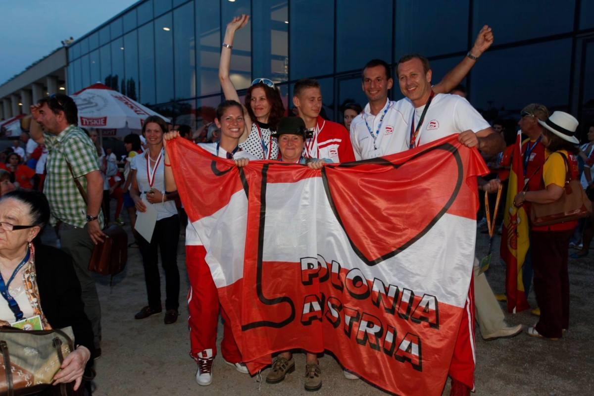 Spotkanie Sportowej Polonii w Austrii