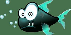魚がギョッ!