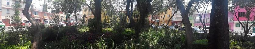 Placita Reforma Social el Jardin ciudad Mexico