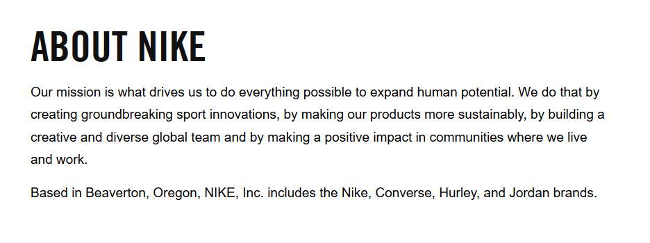 Nike and the importance of meaningful brand values - Polpeo 600c9aaed