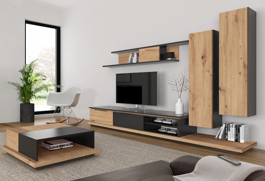 mueble tv muebles polque