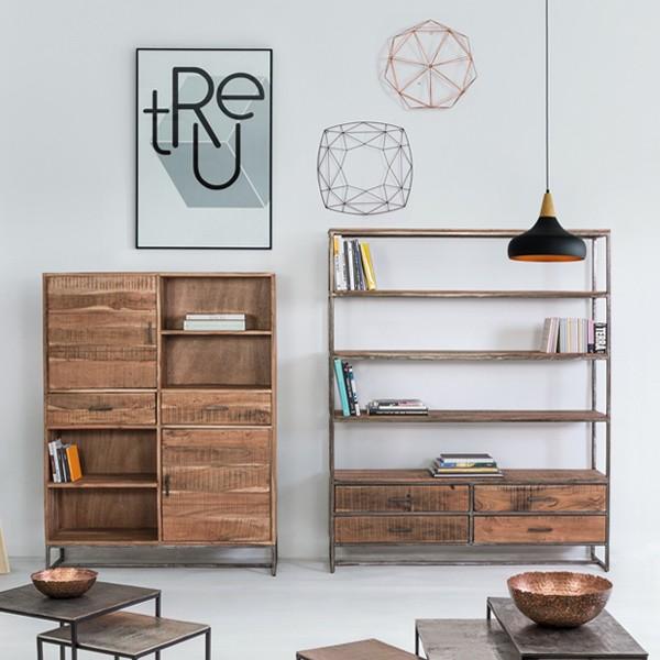 ambiente libreria alessandra muebles polque
