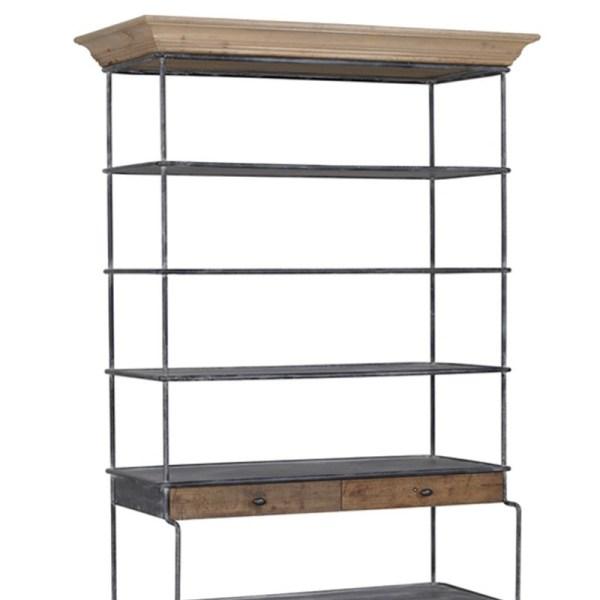estantes libreria industrial 1 muebles polque