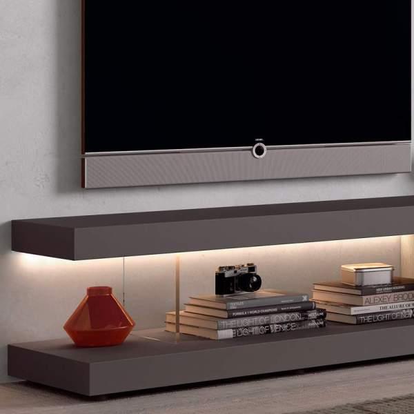 Detalle de mueble Tv Plus de Muebles Polque