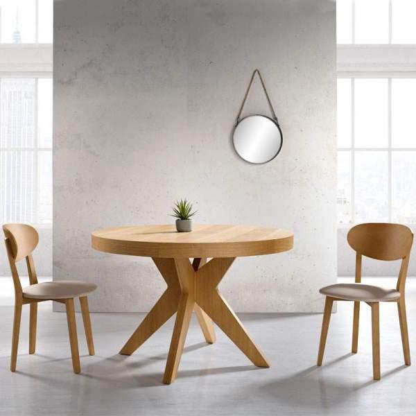 Mesa de comedor redonda Marina de Muebles Polque