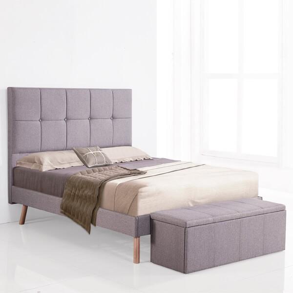 Aro de cama 160 Nor gris