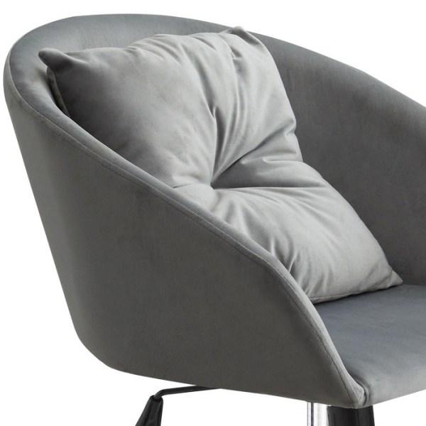silla escritorio Avy gris