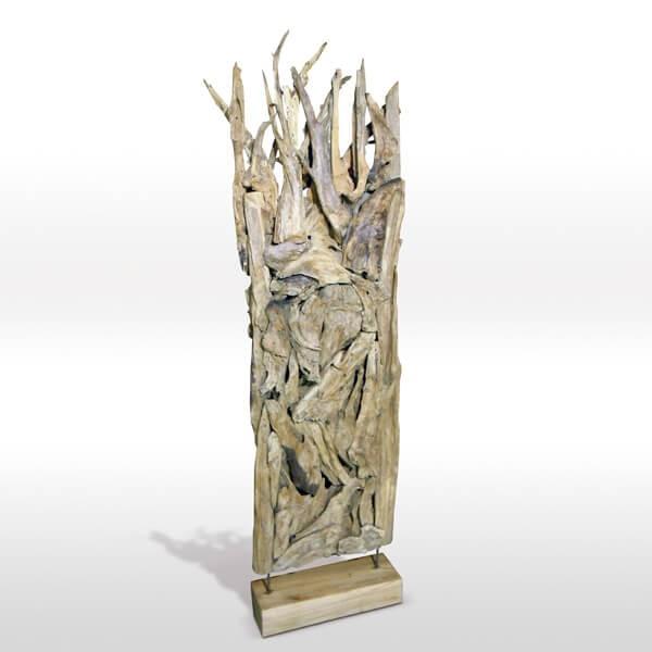 Escultura separadora Unique Muebles Polque