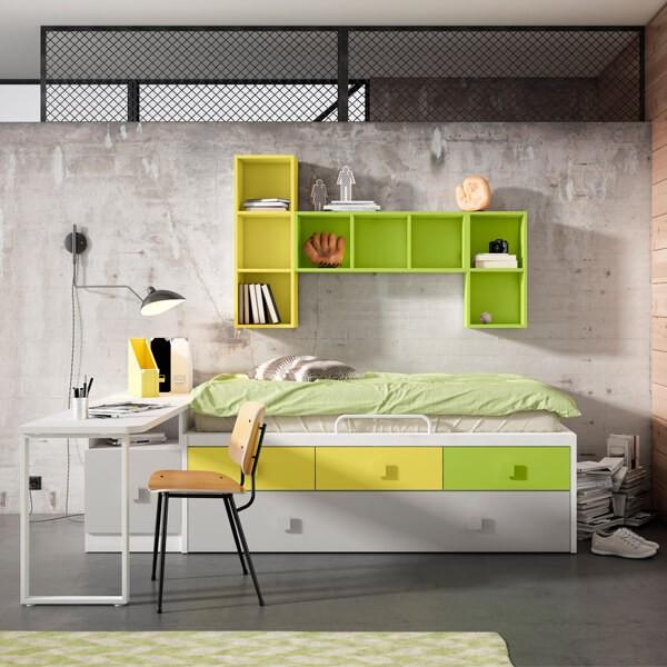 Otros acabados Juvenil 008 Muebles Polque