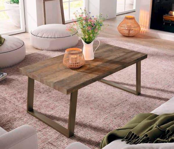 mesa de centro salón muebles polque