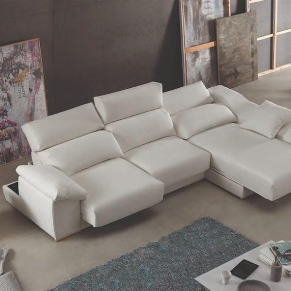 sofá relax eléctrico deslizante muebles polque