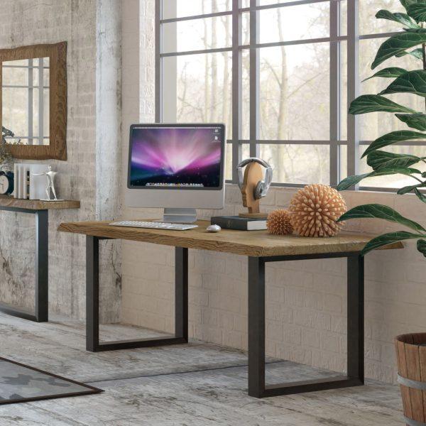 mesa de comedor hierro forjado muebles polque