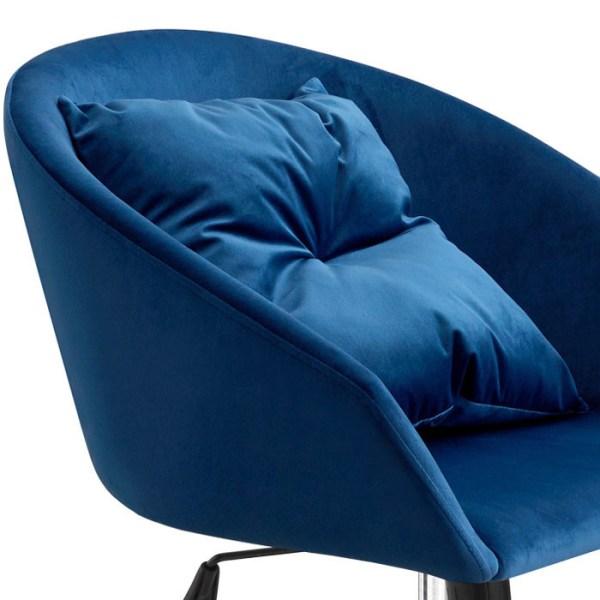 silla escritorio Avy azul
