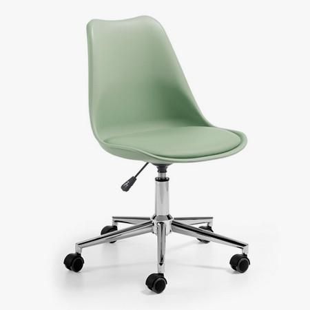 silla escritorio juvenil Eyra verde