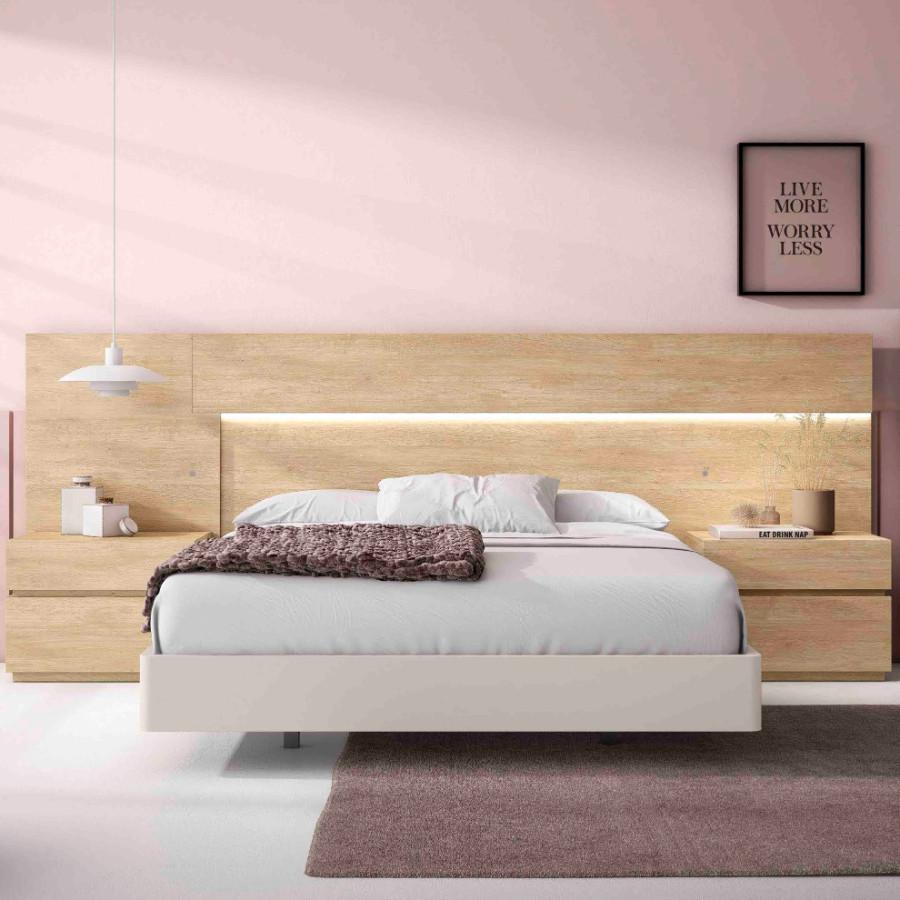 dormitorio moderno laia Roble