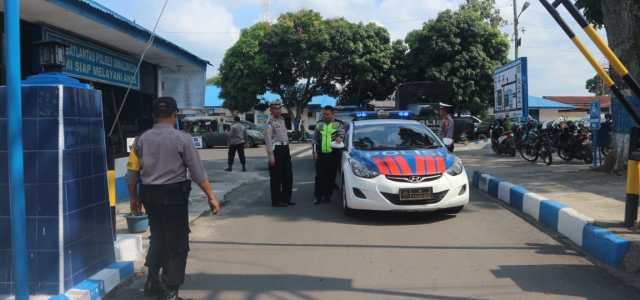 Ciptakan Rasa Aman Dan Nyaman Jelang Pemilu 2019, Polres Simalungun Bersama TNI Gelar Patroli Skala Besar