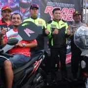 Pelaksanaan Simalungun Road Race 2019 di Sirkuit NP Perkantoran Bupati Simalungun Berlangsung Meriah